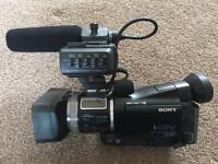 Profession HD 1080i Sony camera recorder hvr-a1e