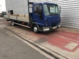 IVECO EURO CARGO 24 FOOT DROP SIDE YEARS TEST £4500 NO VAT!!!