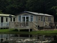 Haggerston Castle Luxury Lakeside caravan for hire