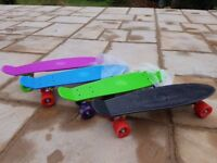 Penny Skateboards Brand New Never Used £10, box of 10 various colours offers accepted.
