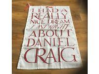 Emma Bridgewater Daniel Craig Teatowel New
