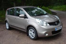 2009 NISSAN NOTE 1.6 Acenta 5dr Auto ONLY 21,000 MILES