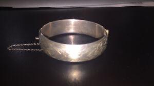 Vintage Ladye Fayre Sterling Silver Bracelet Circa 1940