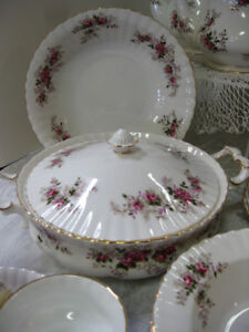 Lavender Rose China - FROM PAST TIMES Antiques  - 1178 Albert St