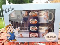 Tetley Tea Folk Breakfast Gift Set