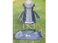 Hi Gear Kentucky Camping chair padded with drinks holder like new £10