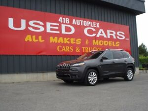 2016 Jeep Cherokee Limited Nav V6 Panoramic Sunroof Leather