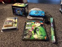Ben 10 portable DVD player with accessories