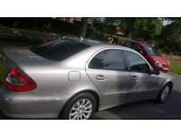 Mercedes E220, 1 previous owner, full service history