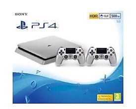 PS4 limited edition silver