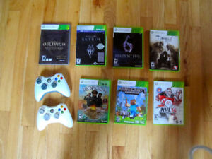 Xbox with 2 controllers and 7 amazing Games - PRICE REDUCTION!!!
