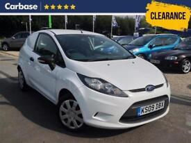 2009 FORD FIESTA 1.4 TDCI Panel Van 3dr