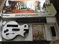 Guitar Hero 3 Guitar + Game Nintendo Wii
