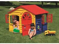 Children's Indoor Outdoor Playhouse - NEW