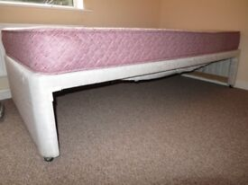 Single bed and mattress (used)