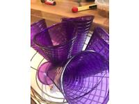 Dessert plastic cups