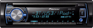 Auto radio pioneer DEH X6500BT CD MP3  USB, RADIO FM,bluetooth