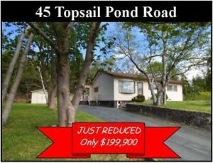45 Topsail Pond Road, Paradise JUST REDUCED