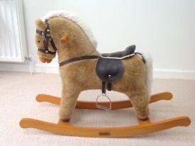 Mama & Papas Wooden Rocking Horse