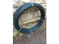 3.5mm plastic pvc coated fencing wire, straining wire, line wire 25 kg roll