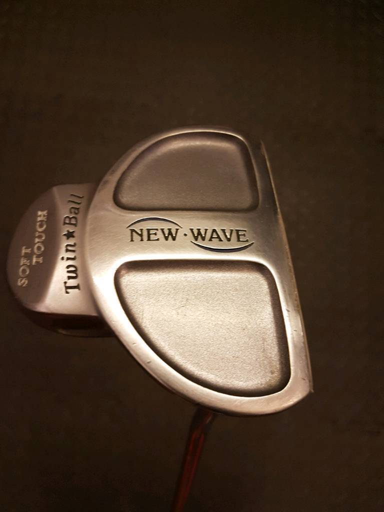 New Wave Soft Touch Twin Ball Putter