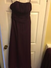 Bridesmaid/prom dress size 10/12