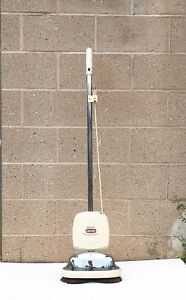 Retro General Electric Deluxe Cord Reel Floating Brush Cleaner