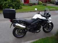 2012 Triumph Tiger 800 For Sale Very Low Mileage