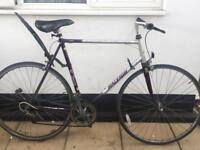 "Vintage road bike. Raleigh Scorpio. 23"" Frame. Extra Large. 700 cc Wheels. Fully working"