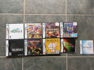 Nintendo DS games with cases retro