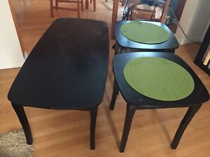 Chalkboard Coffee Table & End Tables