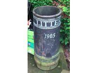 Cast Iron litter bin