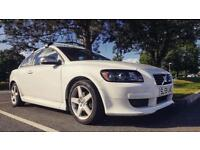 White Volvo C30 R-Design 1.6 Petrol *VERY LOW MILES* - Will swap for a Volkswagen Caddy