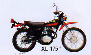 LOOKING FOR A HONDA XL 125, 175 OR 250 A.S.A.P