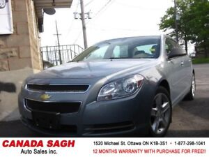 2009 Chevrolet Malibu 2LT LOADED/LTHR, 12M.WRTY+SAFETY $5555