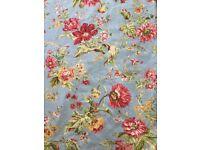 "Pair of curtains in beautiful designer fabric Nina Campbell ""Ophelia """