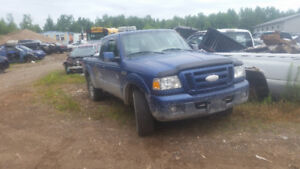 parting out 2007 ranger 4x4