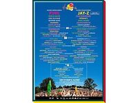 V festival tickets x 2 - Saturday, Chelmsford
