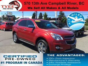 2015 Chevrolet Equinox LTZ AWD Navigation Rear Camera Leather Se
