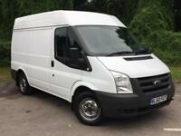 2011 Ford Transit 2.2 TDCi 260 S Med Roof Duratorq 3dr (SWB) PANELVAN in WH(...)