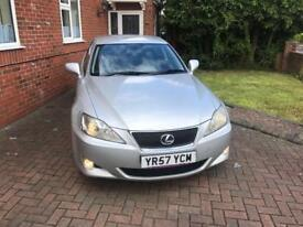 LEXUS IS 220D 57 REG WITH 96K WITH FULL SERVICE HISTORY