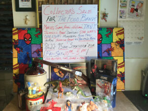 Garage Sale for the Food Bank -50% off everything -quality stuff