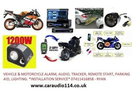 mobile installer. Car & Bike alarm. Tracker, Audio and many more