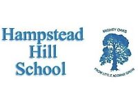 Experienced Year 2 Class Teacher required by long established independent school in NW London.