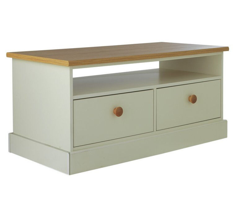 """Winchester 2 Drawer Coffee TableSolid Oakin Holbeck, West YorkshireGumtree - Have this item available for sale. Some fantastic pieces of furniture. Needs to go Fast. If you please phone me for info and also email me please. """"Made with solid oak with a two tone finish in soft white, this Winchester Coffee Table would look..."""