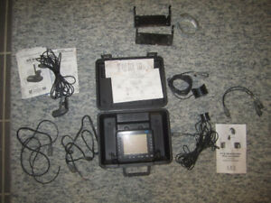 Lowrance / Eagle X55 with transducers, brackets, cables, etc