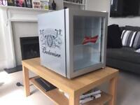 Husky Budweiser mini fridge / drinks cooler