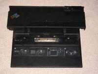 IBM THINKPAD DOCKING STATION 74P6733 PRINTER MONITOR INTERFACE LAPTOP AD ON