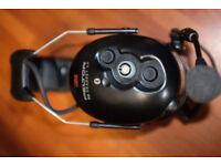 3M Peltor WS Headband Bluetooth Headset XP Headphones ear muffs ear defenders phone NEW