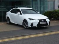 Lexus IS 300H F SPORT (white) 2017-06-20